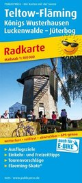 PublicPress Radkarte Teltow, Fläming Königs Wusterhausenm Luckenwalde - Jüterbog
