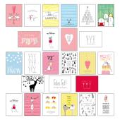 Postkarten-Set Weihnachten - Tl.2