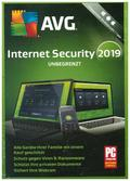 AVG Internet Security unbegrenzt 2019, 1 DVD-ROM