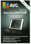 AVG Secure VPN 2019 - 1 Jahr, 1 DVD-ROM