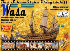 Das Schwedische Kriegsschiff Wasa/Vasa als Modell mit Infos zum Museum und zur Geschichte