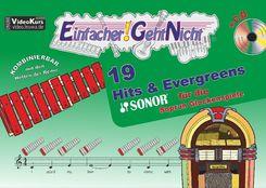 Einfacher!-Geht-Nicht: 19 Hits & Evergreens - für die SONOR® Sopran Glockenspiele, m. 1 Audio-CD