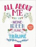 All about me, Eintragebuch