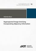 Hyperspectral Image Unmixing Incorporating Adjacency Information