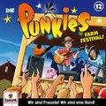 Die Punkies - Farm Festival!, 1 Audio-CD - Tl.12