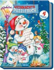 Weihnachtspuzzlebuch Schneemann