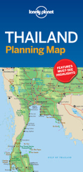 Lonely Planet Thailand Planning Map