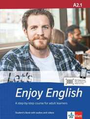 Let's Enjoy English: Student's Book with audios and videos; A2.1