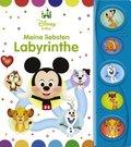 Disney Baby - Meine liebsten Labyrinthe, m. Soundeffekten