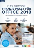 Das große Franzis Paket für Office 2018, 1 DVD-ROM