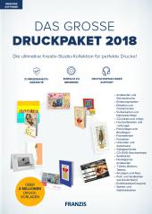 Das große DruckPaket 2018, 1 DVD-ROM