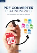 PDF Converter Platinum 2018, 1 CD-ROM