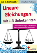 Lineare Gleichungen mit 1-3 Unbekannten