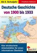 Deutsche Geschichte von 1900 bis 1933