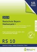 Original Abschlussprüfungen Mathematik I Realschule Bayern 2019