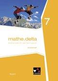 mathe.delta, Ausgabe Bayern: 7. Jahrgangsstufe, Arbeitsheft