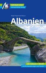 Albanien Reiseführer Michael Müller Verlag, m. 1 Karte