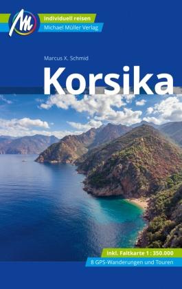 Korsika Reiseführer Michael Müller Verlag, m. 1 Karte