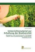 Unterrichtsmaterial zur Erhaltung der Biodiversität