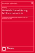 Materielle Konsolidierung bei Konzerninsolvenz