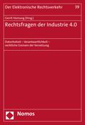 Rechtsfragen der Industrie 4.0