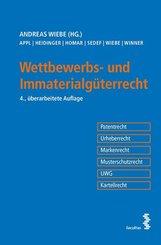 Wettbewerbs- und Immaterialgüterrecht (f. Österreich)