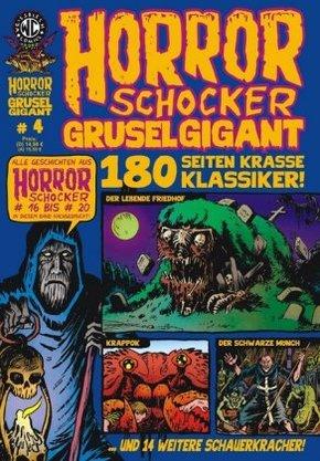 HORRORSCHOCKER Grusel Gigant - Bd.4