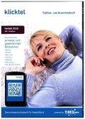 klickTel Telefon- und Branchenbuch Herbst 2018, 1 DVD-ROM