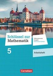 Schlüssel zur Mathematik - Differenzierende Ausgabe Oberschule Sachsen: 5. Schuljahr - Arbeitsheft