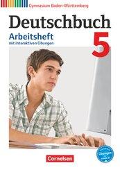 Deutschbuch, Gymnasium Baden-Württemberg (Bildungsplan 2016): 9. Schuljahr, Arbeitsheft mit interaktiven Übungen; 5