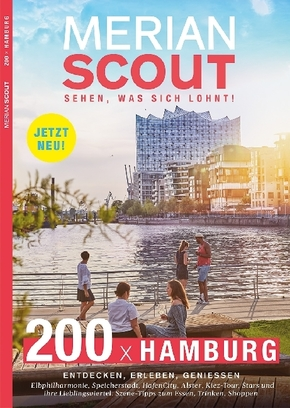MERIAN scout. Sehen, was sich lohnt! Hamburg
