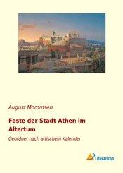 Feste der Stadt Athen im Altertum
