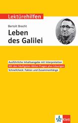 Lektürehilfen Bertolt Brecht 'Das Leben des Galilei'