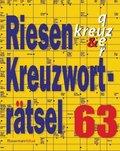 Riesen-Kreuzworträtsel - Bd.63