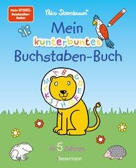 Mein kunterbuntes Buchstaben-Buch. Spielerisch die Buchstaben von A bis Z lernen. Durchgehend farbig. Für Vorschulkinder