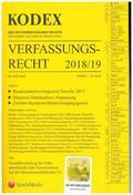 KODEX Verfassungsrecht 2018/19