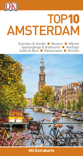 Top 10 Reiseführer Amsterdam, m. 1 Beilage