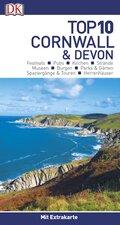 Top 10 Reiseführer Cornwall & Devon, m. 1 Karte