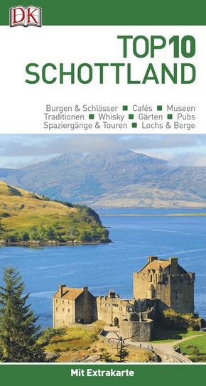 Top 10 Reiseführer Schottland, m. 1 Karte
