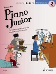 Piano Junior: Klavierschule - Bd.2