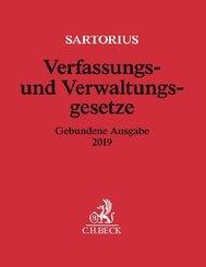 Verfassungs- und Verwaltungsgesetze, Gebundene Ausgabe 2019