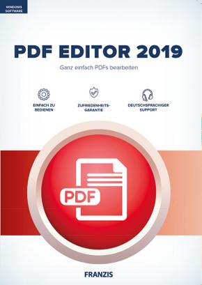 PDF Editor 2019, 1 CD-ROM