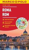 MARCO POLO Cityplan Rom 1:12 000; Rome / Roma