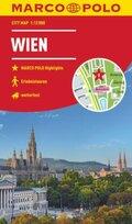 MARCO POLO Cityplan Wien 1:12 000; Vienna / Vienne