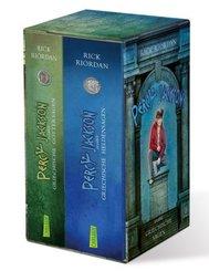 Percy Jackson erzählt: Griechische Göttersagen / Percy Jackson erzählt: Griechische Heldensagen (2 Bücher)