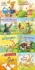 Pixi Bücher: Ostern und Frühling mit Pixi - mit Stickern; .235 (64 Expl. (8 Titel))