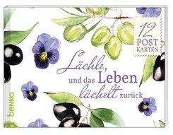 """Postkartenbuch """"Lächle, und das Leben lächelt zurück"""""""