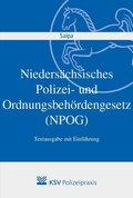 Niedersächsisches Polizei- und Ordnungsbehördengesetz (NPOG)