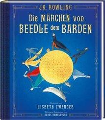 Die Märchen von Beedle dem Barden (farbig illustrierte Schmuckausgabe