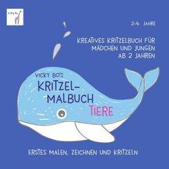 Vicky Bo's Kritzel-Malbuch - Tiere